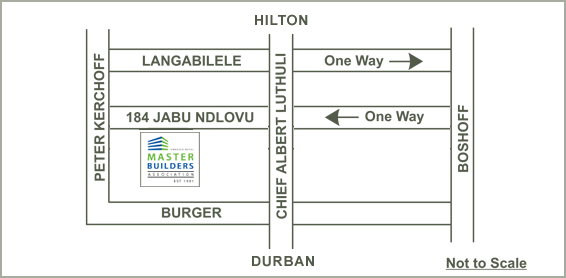 map forPietermaritzburg office contact details