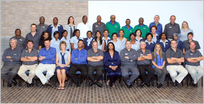 KZN Master Builders Association Staff Group Photo